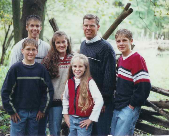 Our Family During The Early Business Years